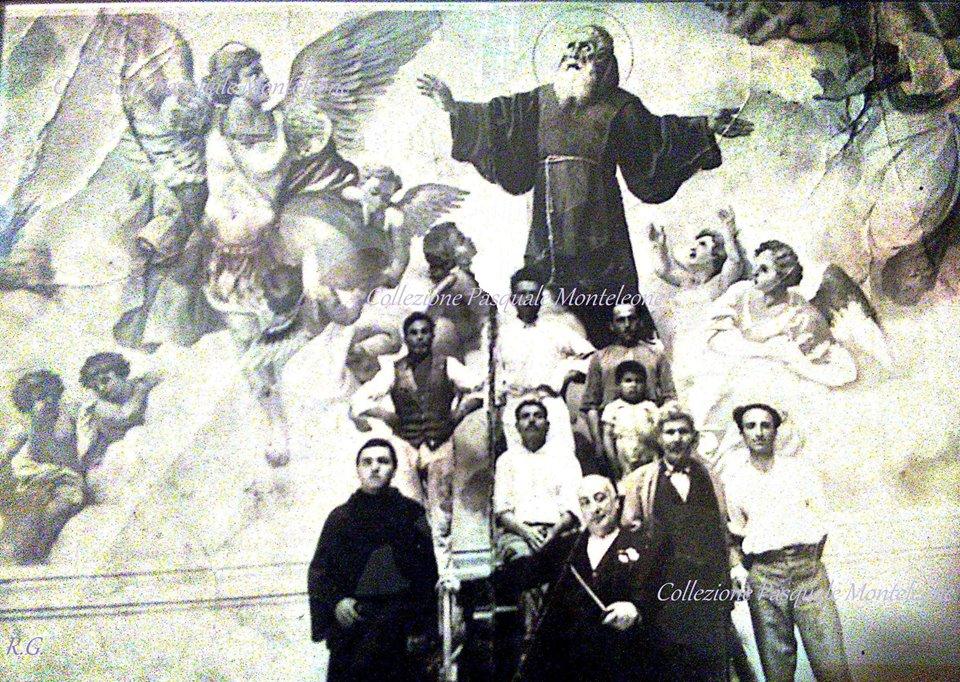 Chiesa di san Rocco e san Francesco di Paola a Pizzo – Il cupolone affrescato nel 1936 dal pittore Diego Antonio Grillo