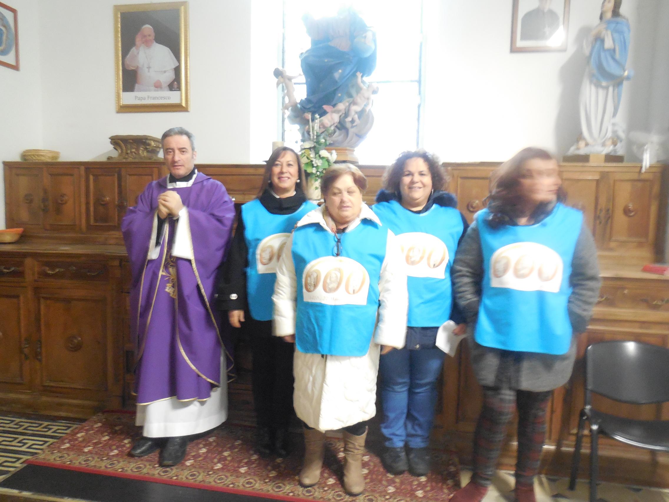 18/12/2016 Santa Messa animata Gruppo Accoglienza – Foto di Natalia