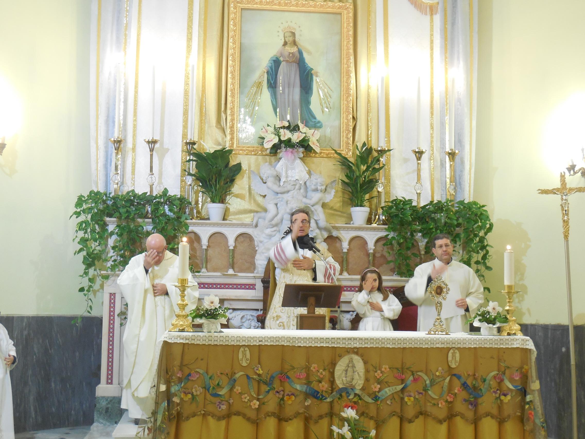 20/1/2017 – Santuario San Francesco – Solennita' della Madonna del Miracolo – Foto di Natalia