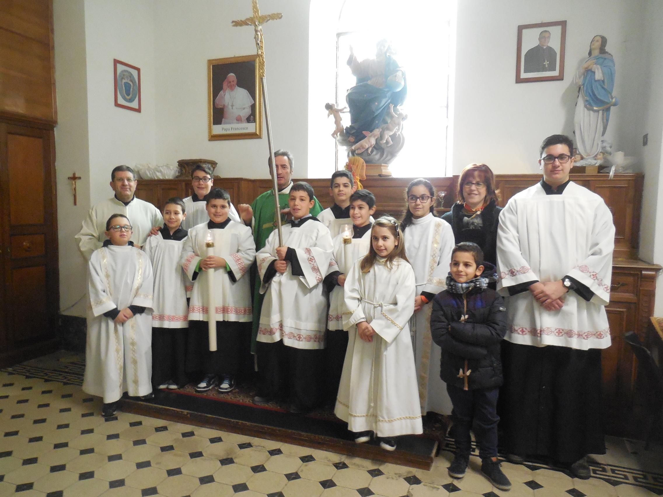 Pizzo 22/1/2017 – Santuario s. Francesco di Paola – Messa Ministranti – Foto di Natalia