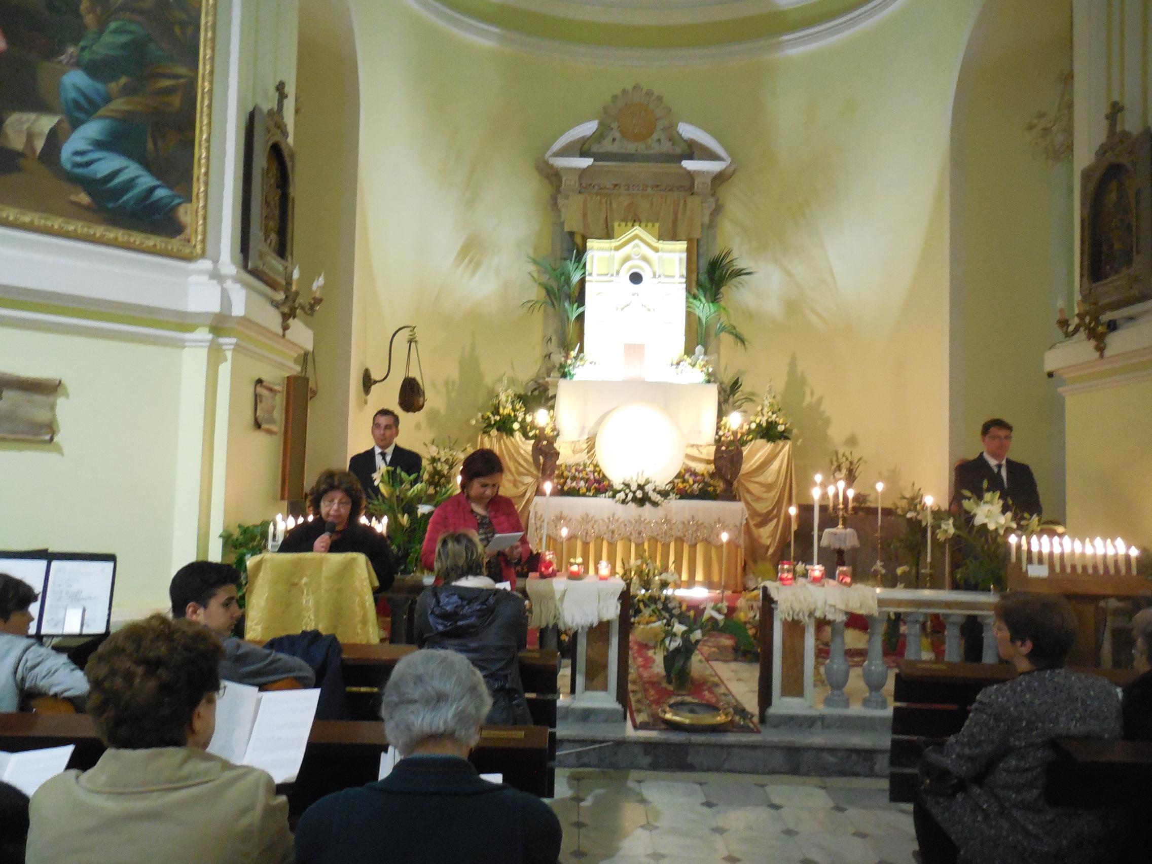 14/4/2017 Santuario San Francesco di Paola – Adorazione notturna nella notte della Passione del Giovedì Santo – Foto di Natalia