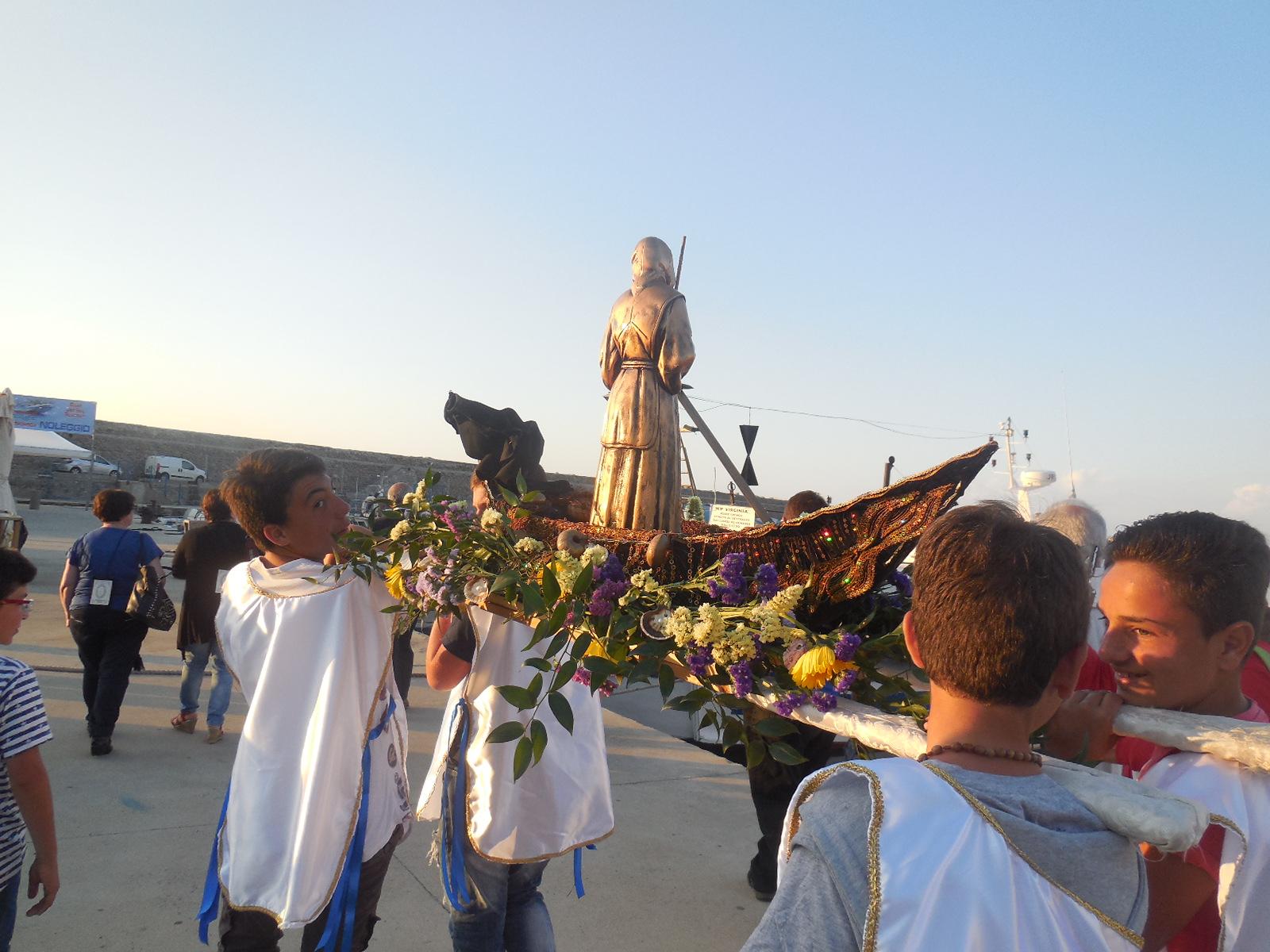 27/5/2017 Tropea – Festa di San Francesco a Tropea con i Frati Minimi della Comunità Pizzo