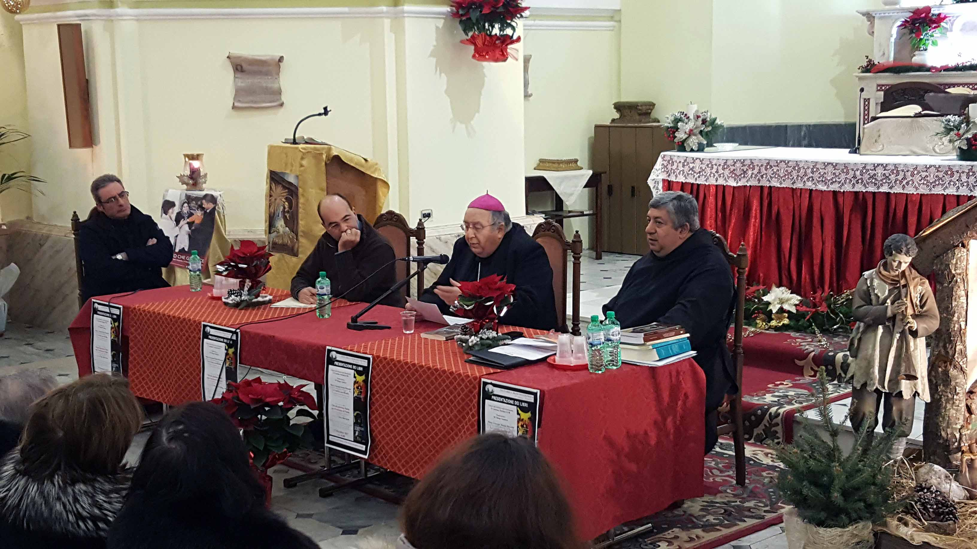 29/12/2017 Presentazione libri di S.E.Arcivescovo Mons. Morosini e Padre Rocco Benvenuto