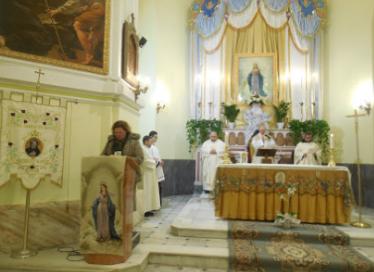 19/1/2017 – Terzo giorno del triduo dei solenni festeggiamenti in onore della Madonna del Miracolo – Foto di Natalia