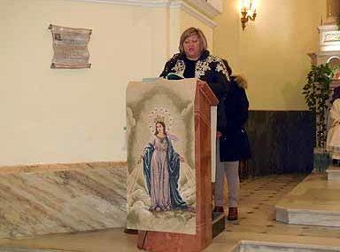 19/1/2018 Terzo giorno triduo Madonna del Miracolo