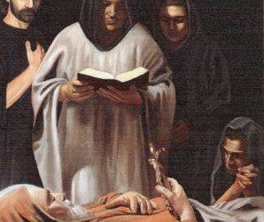 Riferiscono i biografi del Santo che canti angelici si udissero al suo apparire alla luce 27 marzo 1416