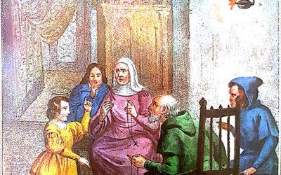 Nella recita del Rosario il primo ncontro di pietà mariana del fanciullo paolano