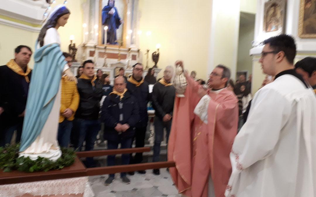 11/3/2018 – Accoglienza della statua della Madonna del Miracolo