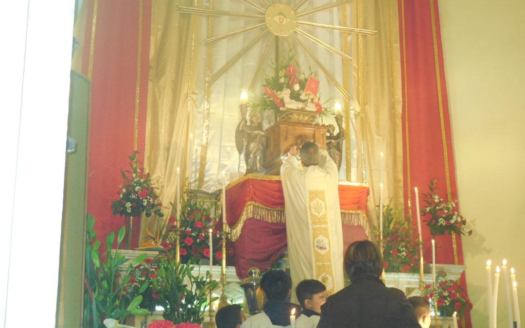 """Pasqua 2019 – Giovedì Santo – """"In Coena Domini"""""""