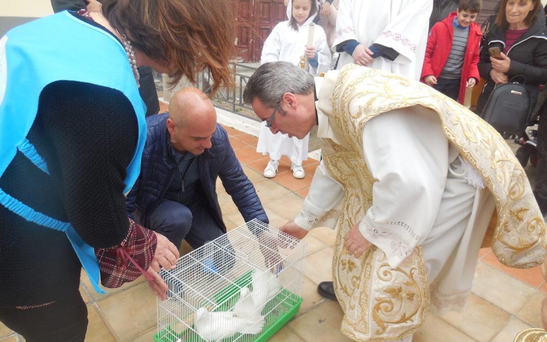 21/4/2019. Domenica di Pasqua al Santuario di San Francesco di Paola