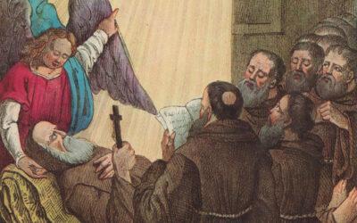 La vita di San Francesco: La morte: 2 aprile 1507